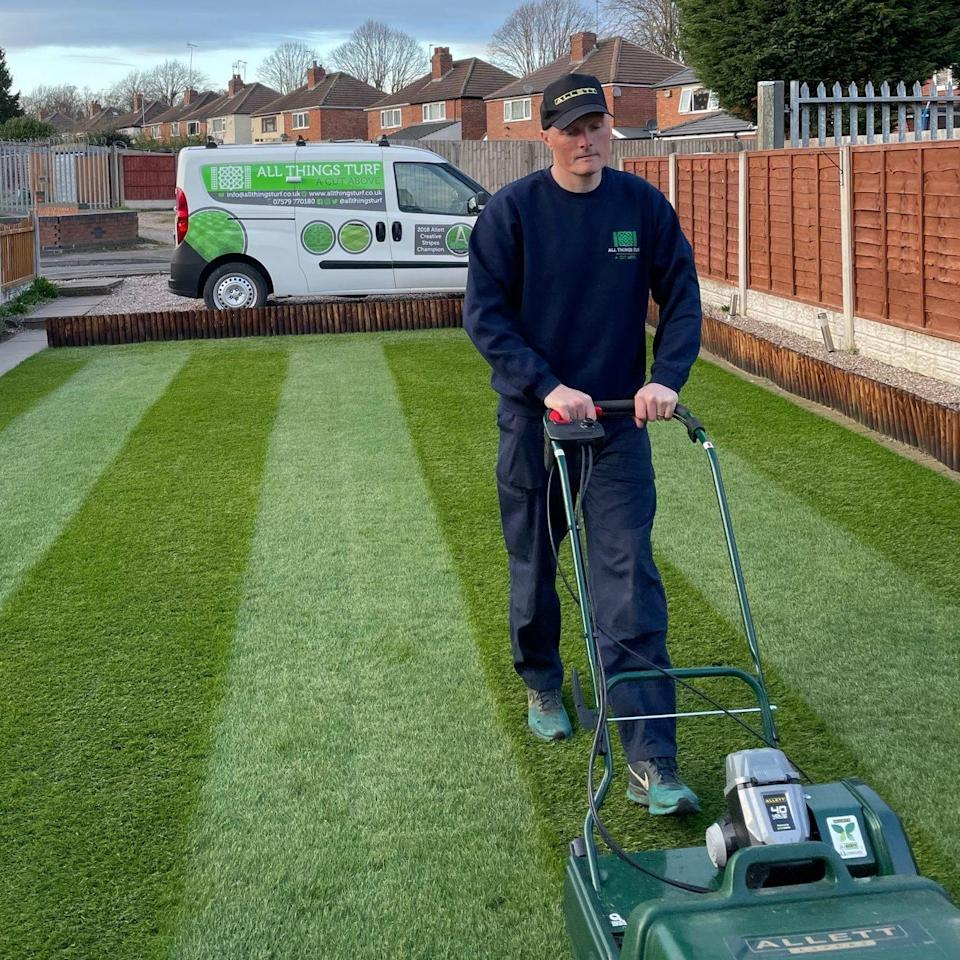 Keith Smith: 'Mowing my lawn is my relaxation time'  - Keith Smith