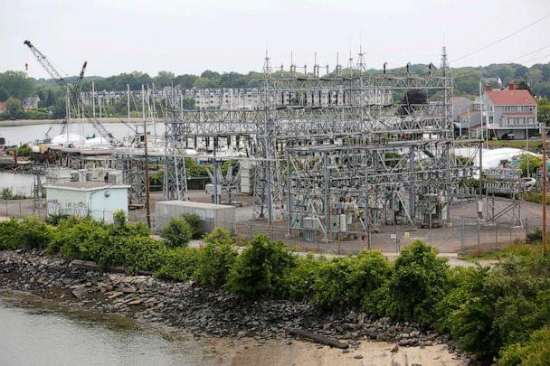 PHOTO: Central Maine Power Co. Cape Substation in South Portland, Maine, is shown in this July 2, 2018, file photo. (Derek Davis/Portland Press Herald via Getty Images)