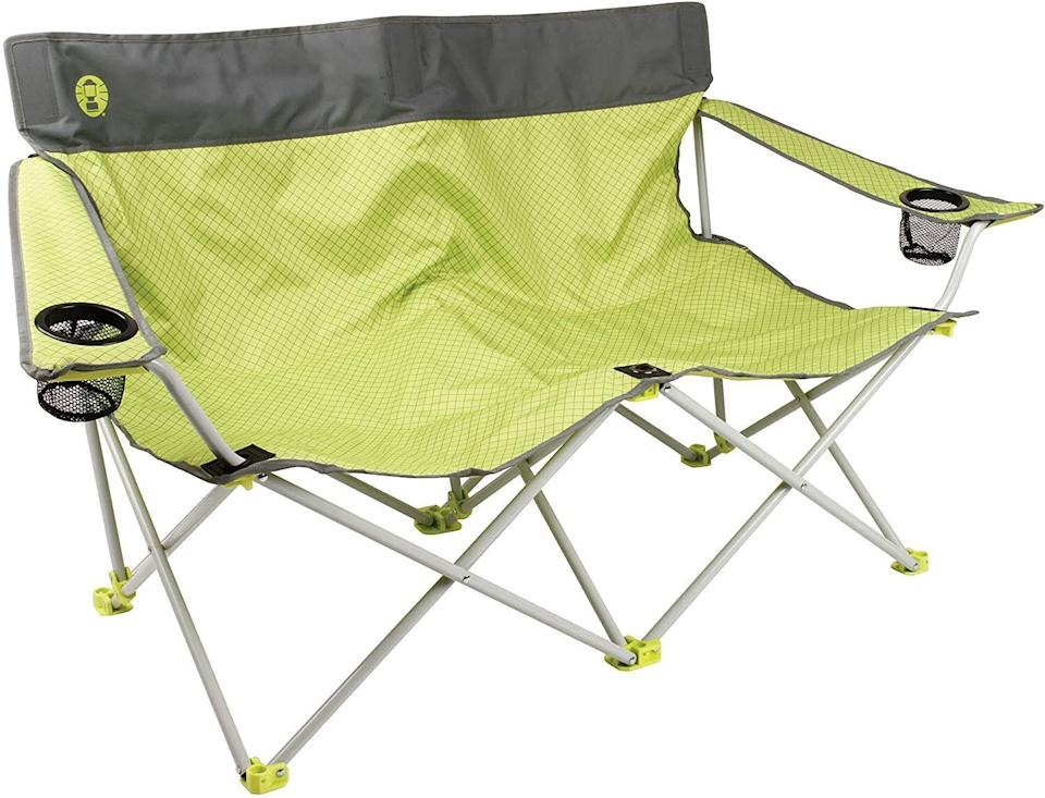 """It's the closest thing to a couch you'll find in the great outdoors. <a href=""""https://amzn.to/3idg8M5"""" rel=""""nofollow noopener"""" target=""""_blank"""" data-ylk=""""slk:Find it for $50 at Amazon"""" class=""""link rapid-noclick-resp"""">Find it for $50 at Amazon</a>."""
