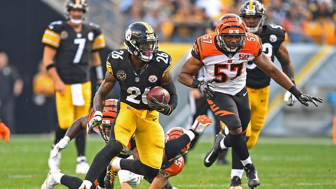Le'Veon Bell führt die NFL in Sachen Rushing-Yards an
