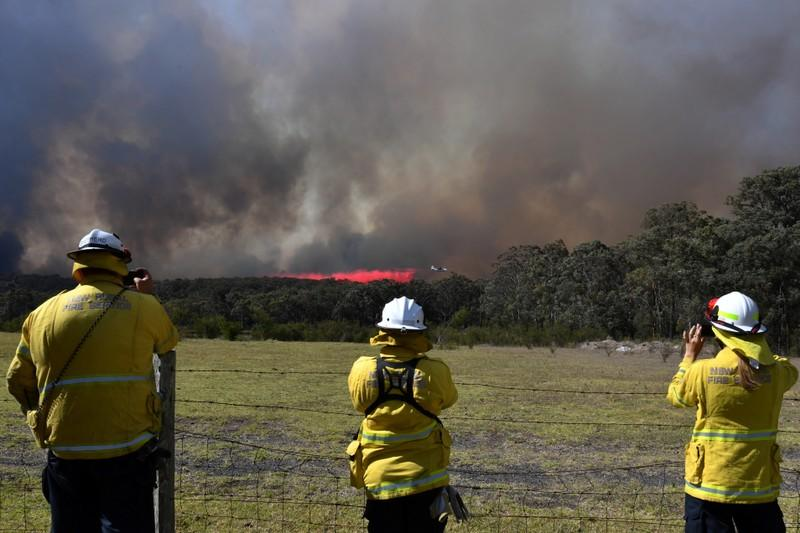 Bushfires rage across Australia's east and west as danger rises