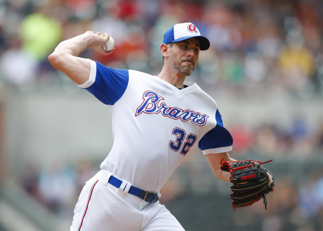Former MLB pitcher Brandon McCarthy is joining the Texas Rangers front office. (AP)