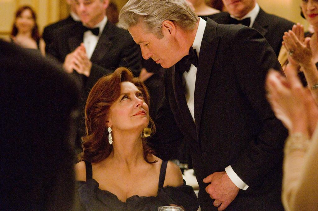 """""""Arbitrage"""": Richard Gere stars as a billionaire hedge funder whose life has been predicated on buying low and selling high. But the high cost of his business practices come due as he turns 60 and his empire begins to crumble. Susan Sarandon and Tim Roth co-star."""