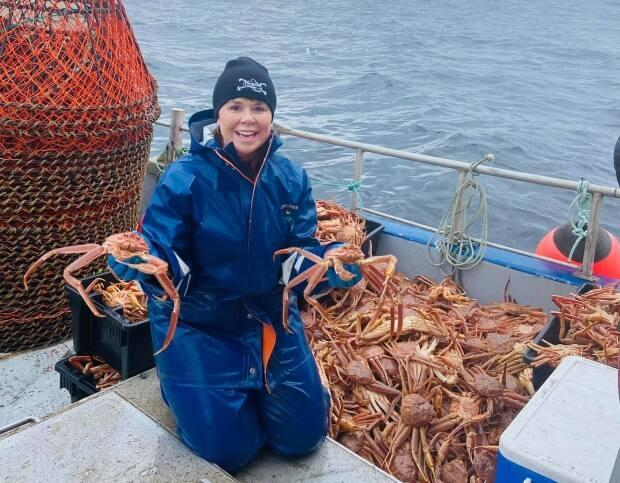 Fitzgerald, the PC candidate who lost in the district of St. Barbe-L'Anse aux Meadows, now fishes for crab.