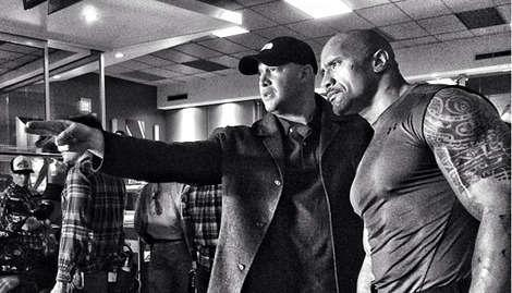 The Rock hints that he'll play the Green Lantern?