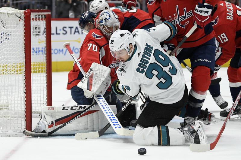 Sharks clip Columbus 3-1 in first home game of 2020