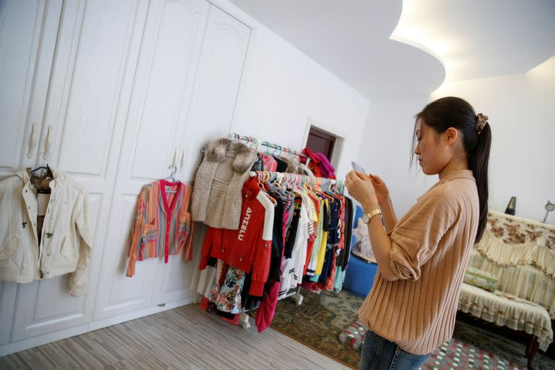 China's young spenders say #ditchyourstuff as economy sputters