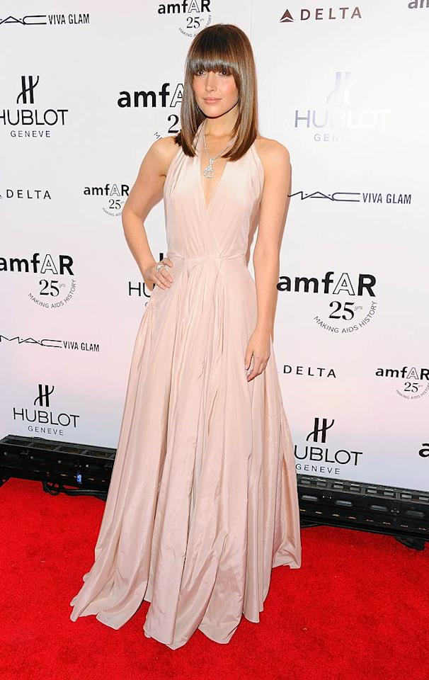 """Also spotted at the star-studded soiree ... """"Damages"""" star Rose Byrne, who opted for a stylish silk Ralph Lauren gown and banging' new 'do. Andrew H. Walker/<a href=""""http://www.gettyimages.com/"""" target=""""new"""">GettyImages.com</a> - February 9, 2011"""