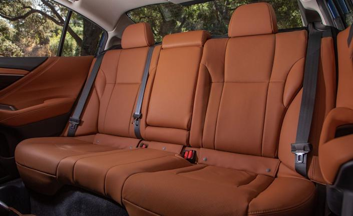 <p>Soft-touch materials can be found on nearly all surfaces of the interior, and top-spec Touring models come with nappa leather upholstery on the seats.</p>