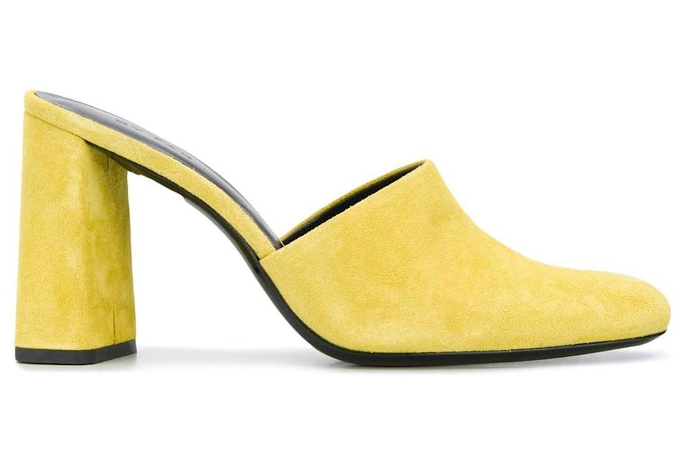 yellow mules, by far