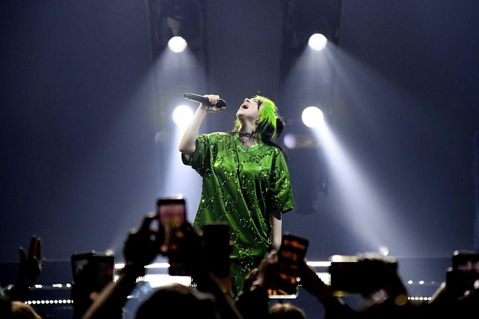 <p><strong>Billie Eilish </strong></p><p>She's a baaaaaaad guy, duh! Billie Eilish (full name: Billie Eilish Pirate Baird O'Connell) is a Los Angeles native, growing up in a humble bungalow with her family. At 18, she won every award imaginable with her debut album <em>When We All Fall Asleep, Where Do We Go?</em> She wrote and recorded the entire album with her brother Finneas, creating the entire thing right in his bedroom. </p>