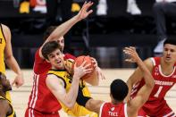 NCAA Basketball: Big Ten Conference Tournament-Wisconsin vs Iowa