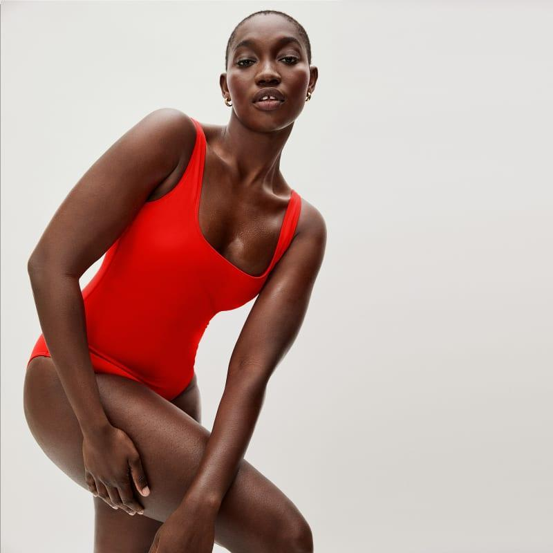 """<h2>Everlane Swimwear</h2><br>April and its sunshiny weather kicked off swimsuit-shopping season along with one particularly notable new drop from a reader-favorite brand. After the Shopping team tried on <a href=""""https://www.refinery29.com/en-us/everlane-swimwear-collection-reviews"""" rel=""""nofollow noopener"""" target=""""_blank"""" data-ylk=""""slk:Everlane's first-ever swimwear collection"""" class=""""link rapid-noclick-resp"""">Everlane's first-ever swimwear collection</a>, the sustainably made and comfy-cute styles shot to the tops of the internet's carts with many selling out completely. But, you can still snag this here square-neck one-piece in its four different colorways. <br><br><em>Shop <strong><a href=""""https://www.everlane.com/products/womens-square-neck-one-piece-black"""" rel=""""nofollow noopener"""" target=""""_blank"""" data-ylk=""""slk:Everlane"""" class=""""link rapid-noclick-resp"""">Everlane</a></strong></em><br><br><strong>Everlane</strong> The Square-Neck One-Piece, $, available at <a href=""""https://go.skimresources.com/?id=30283X879131&url=https%3A%2F%2Fwww.everlane.com%2Fproducts%2Fwomens-square-neck-one-piece-bright-red%3Fcollection%3Dwomens-swimwear"""" rel=""""nofollow noopener"""" target=""""_blank"""" data-ylk=""""slk:Everlane"""" class=""""link rapid-noclick-resp"""">Everlane</a>"""