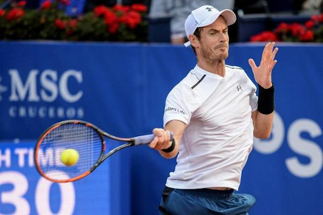 O tenista Andy Murray