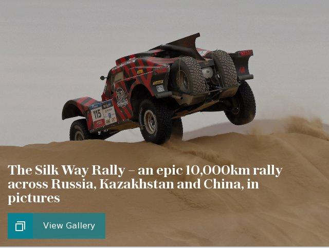 The Silk Way Rally – an epic 10,000km rally across Russia, Kazakhstan and China, in pictures