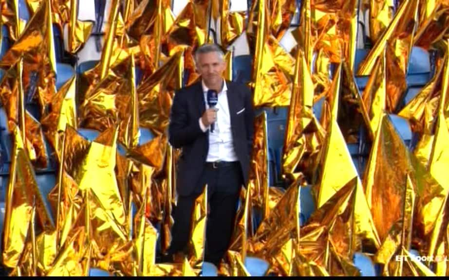 Gary in the stands - Credit: BT Sport