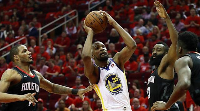 The Open Floor crew discusses whether or not Golden State has become too reliant on Kevin Durant, especially when the rest of the Warriors are struggling.