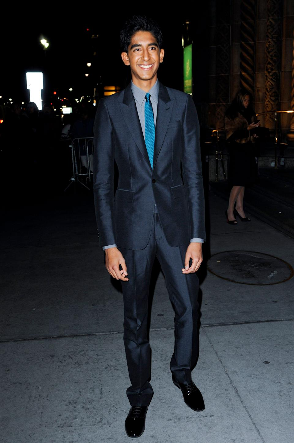 Patel attends at the National Board Of Review Awards Gala at Cipriani in New York City on Jan. 14, 2009.