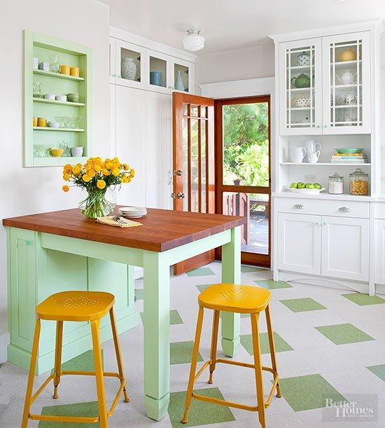 Electrifying Kitchen Color Combinations