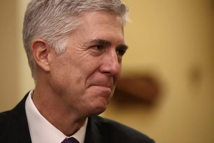 U.S. Supreme Court nominee Judge Neil Gorsuch. (Photo: Win McNamee/Getty Images)