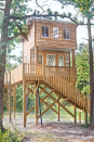 """<p>The family of Atlanta-based designer and blogger Joni Lay makes spectacular summer memories at this two-story hideaway set among towering Georgia pines. Built by her father for his grandkids, it's a beautiful and altogether magical place to grow up.</p><p><a class=""""link rapid-noclick-resp"""" href=""""https://www.amazon.com/PAVILIA-Microplush-Functional-Lightweight-Wearable/dp/B0786XQQMJ/?tag=syn-yahoo-20&ascsubtag=%5Bartid%7C10072.g.35047961%5Bsrc%7Cyahoo-us"""" rel=""""nofollow noopener"""" target=""""_blank"""" data-ylk=""""slk:SHOP BLANKET SWEATSHIRTS"""">SHOP BLANKET SWEATSHIRTS</a></p>"""