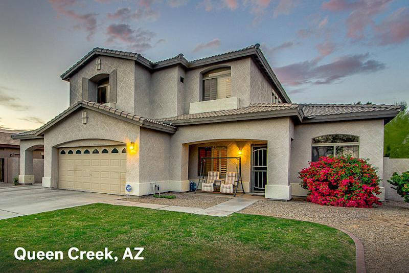 Home for sale in Queen Creek AZ with a $1500 estimated mortgage payment