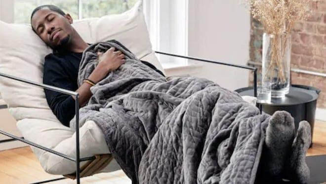 Best Graduation Gifts for Him: A Gravity blanket