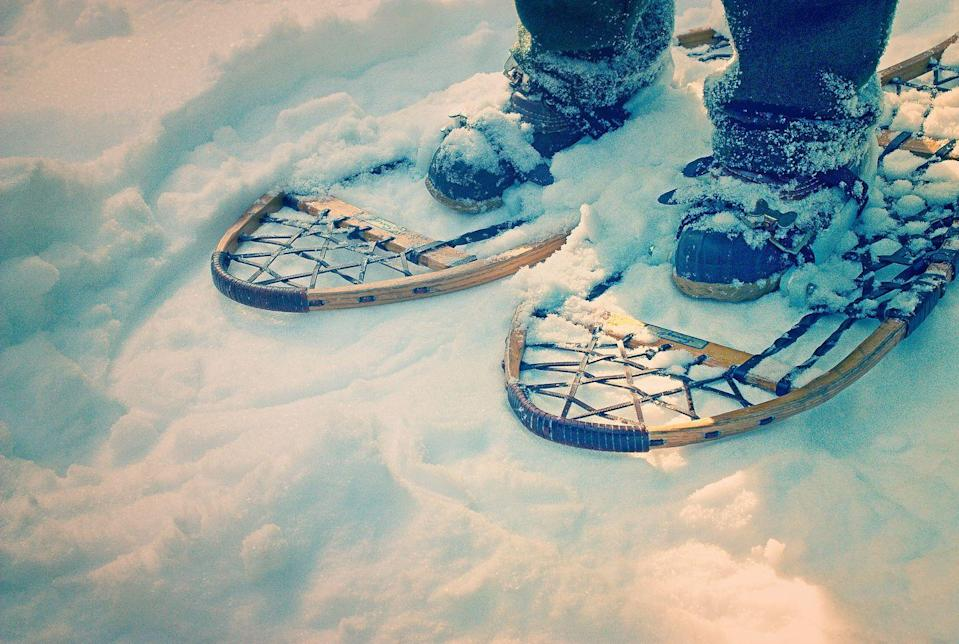 <p>Look, not everyone lives near a ski slope or can access the pricey gear. That's where snowshoeing comes in as a much more approachable alternative. Flat land? No balance? No problem.</p>
