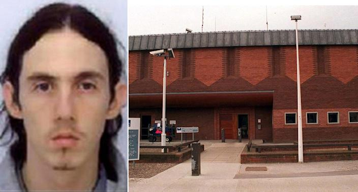 Humberside Police said HMP Full Sutton inmate Paul Fitzgerald has been charged with Richard Huckle's murder in October 2019 (PA)