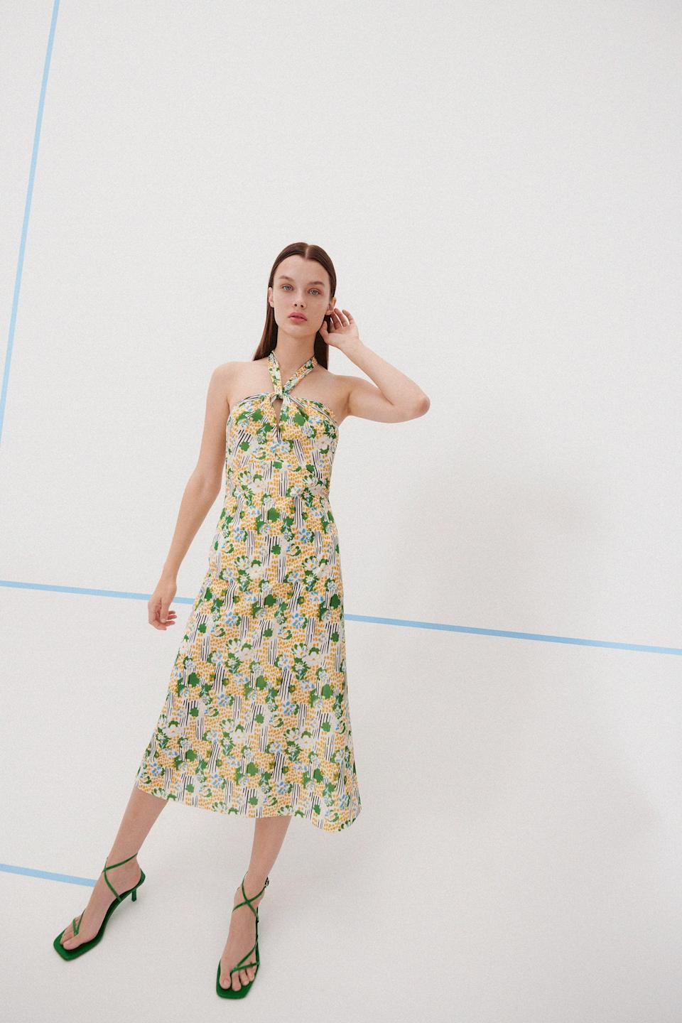 <p>Slipping into this <span>Print Dress</span> ($36) is an easy to look polished without trying.</p>