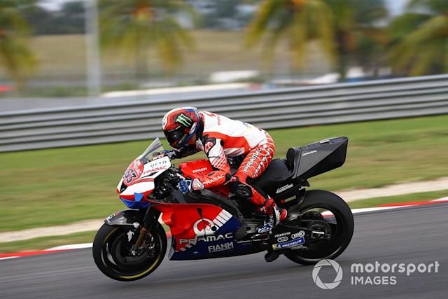 "Francesco Bagnaia, Pramac Racing <span class=""copyright"">Gold and Goose / Motorsport Images</span>"