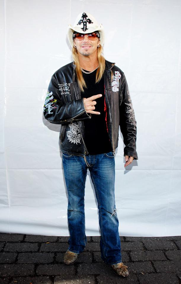 Bret Michaels attends the American Diabetes Association's StepOut event at the South Street Seaport on October 25, 2009 in New York City.