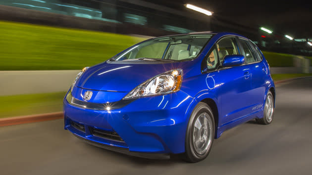The Electric Powered 2013 Honda Fit EV Was Recently Granted A U.S. Fuel  Economy Rating Of 118 Mpg E, Making It The Most Power Efficient Vehicle  Available.