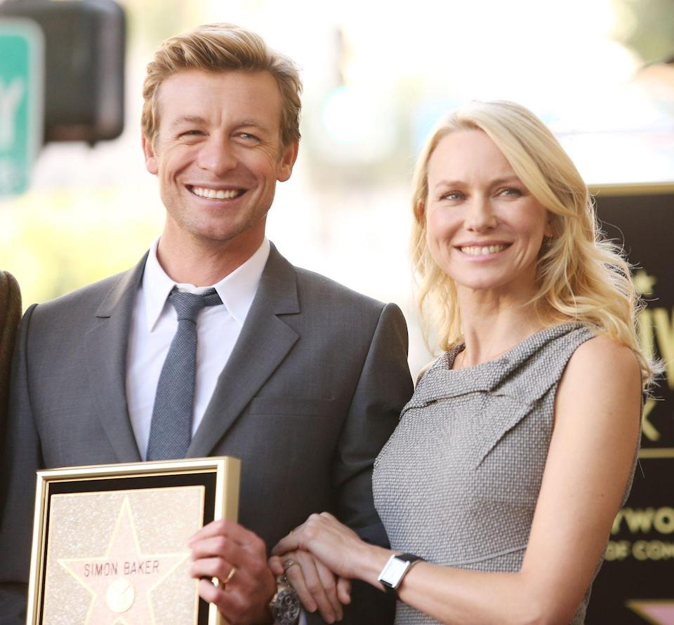 """<p>The two worked together on <em>The Ring 2</em> in 2005 but <a href=""""http://www.hollywood.com/general/naomi-watts-didn-t-like-simon-baker-dating-her-friend-59114614/"""" rel=""""nofollow noopener"""" target=""""_blank"""" data-ylk=""""slk:originally met through Baker's then-girlfriend (now-wife), Rebecca"""" class=""""link rapid-noclick-resp"""">originally met through Baker's then-girlfriend (now-wife), Rebecca</a>. Watts wasn't always in his corner—the besties initially got off to a <a href=""""http://www.contactmusic.com/naomi-watts/news/naomi-watts-didn-t-like-simon-baker-dating-her-friend_3947984"""" rel=""""nofollow noopener"""" target=""""_blank"""" data-ylk=""""slk:bumpy start"""" class=""""link rapid-noclick-resp"""">bumpy start</a> because Baker was always interrupting their girl time. Now, Watts is the godmother to his son.</p>"""