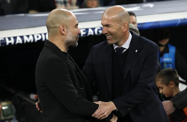 The Champions League last-16 second legs of Manchester City vs Real Madrid and Juventus vs Olympique Lyonnais, scheduled for March 17, have been postponed.