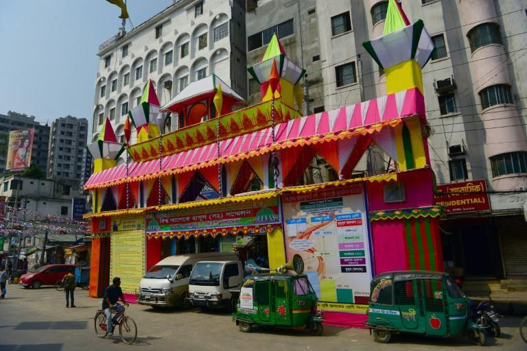A Sufi's house in Dhaka, where near a 100,000 Sufis are expected in Dhaka to attend an annual congregation. Islamists have claimed responsibility for around 40 killings in the last three years of foreigners, secular bloggers, gay activists, Hindus and Christians