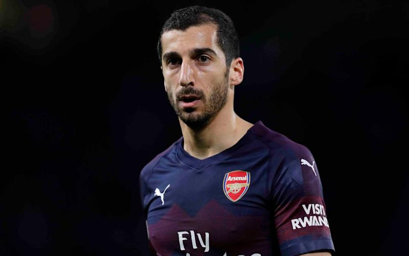 Armenian midfielder Mkhitaryan said he was 'hurt' to be missing Arsenal's match with Chelsea in Baku - Getty Images Europe