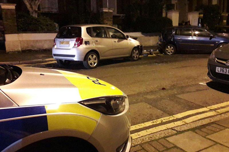 Scene: The incident happened in Lordship Road: 999London