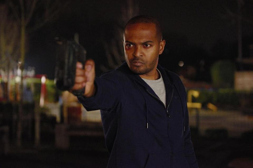 Noel Clarke in 'Brotherhood' - Credit: Lionsgate