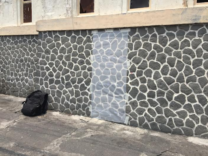 """<div class=""""caption""""> Leah Ring and her boyfriend, Adam de Boer, are working on a series together inspired by the volcanic stones that were on Adam's house when he lived in Indonesia. </div> <cite class=""""credit"""">Image: Courtesy of Leah Ring</cite>"""