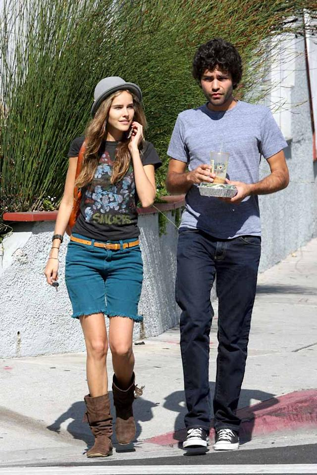 "Shia's ""Transformers 2"" costar Isabel Lucas was reportedly in his truck at the time of the accident, but escaped unharmed. The Aussie actress avoided questions while out with boyfriend Adrian Grenier. <a href=""http://www.splashnewsonline.com"" target=""new"">Splash News</a> - July 29, 2008"