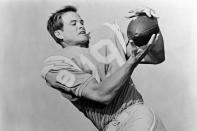 FILE - This Sept. 1967 file photo shows San Diego Chargers football player Lance Alworth. Alworth was perhaps the AFL's greatest player after opting for the new league over the more established NFL in 1962. (AP Photo/File)