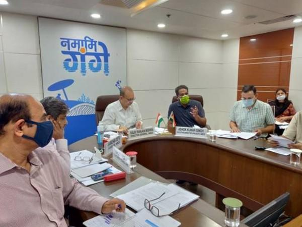 Visuals of 37th Executive Meeting of NMCG (Photo: Ministry of Jal Shakti)