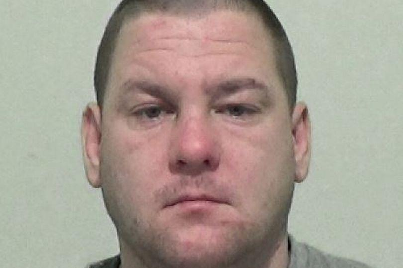 Martin Hoggarth has been jailed for spitting at police officers. (Reach)
