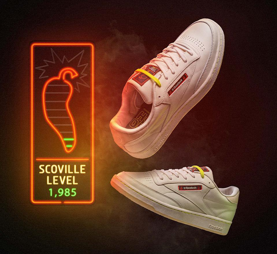 Hot Ones x Reebok Club C 'Mild'