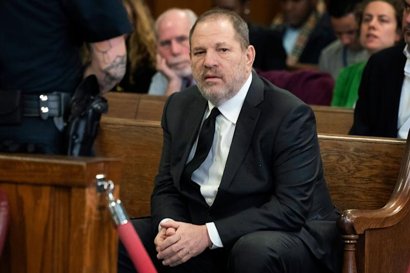Harvey Weinstein in court, Jan. 25, 2019, in New York, for a hearing on changes to his legal team defending him on sex-crime charges.