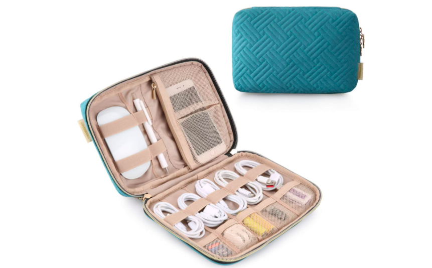 Keep your cords and other gear organized while you're on the go. (Photo: Amazon)