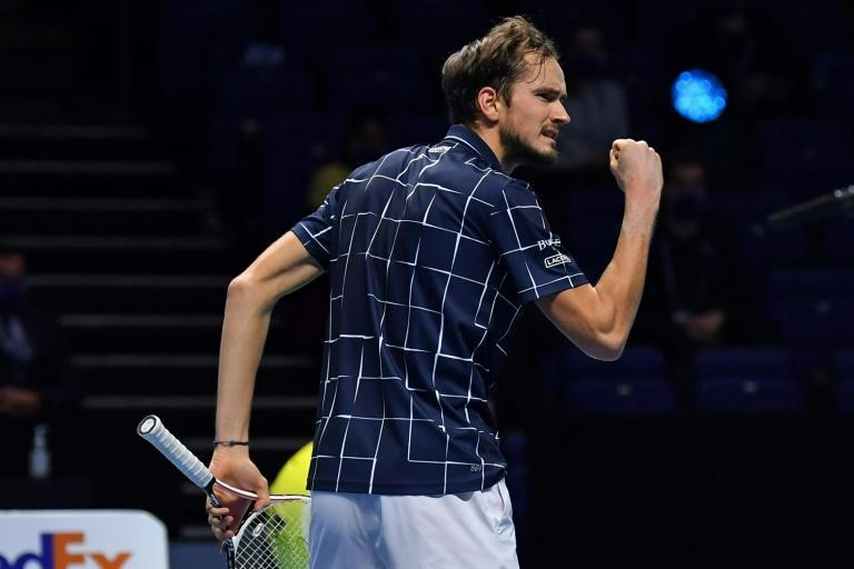 Daniil Medvedev beat Dominic Thiem to win the ATP Finals in London