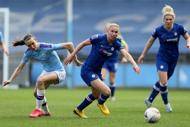 Manchester City and Chelsea were set for a thrilling title race in the WSL