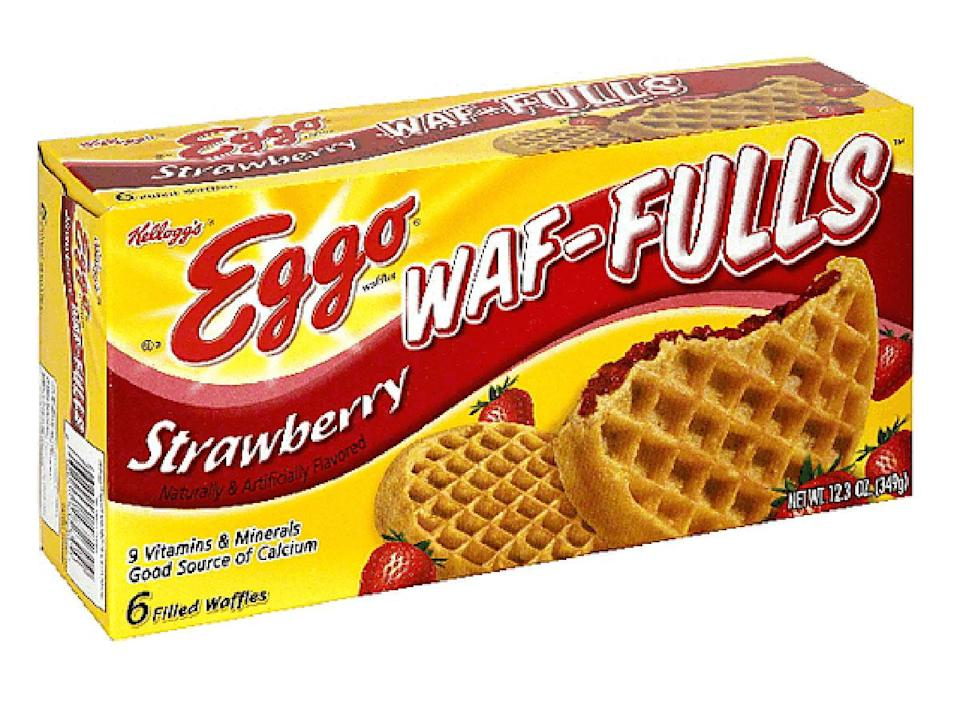 box of eggo waffuls